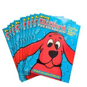 Other - CLIFFORD Coloring & Activity Book - Set of 10